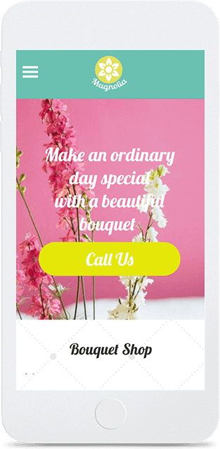 Website builder Flower Store responsive template