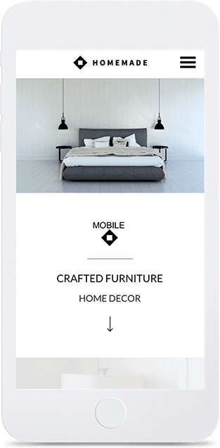 Website builder Home Decor responsive template